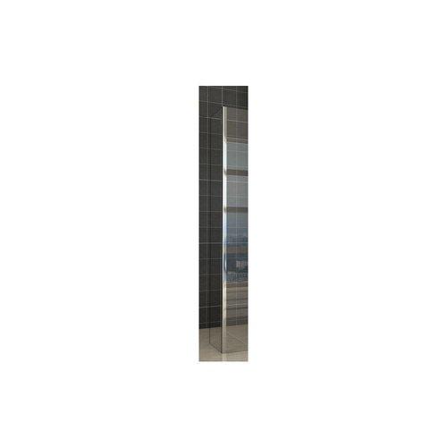Zijwand Met Hoekprofiel 30/40X200 Cm