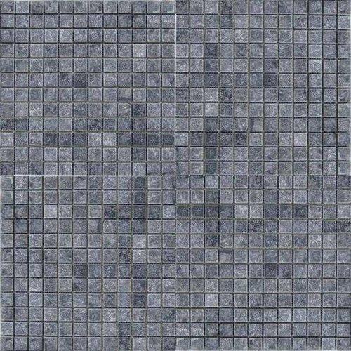 Natuursteen Marmer Mozaïek Mat Karia Black 2,5X2,5X1 Cm P/M²