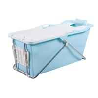 Opvouwbaar Zitbad Bath Bucket 2.0 voor Volwassenen 100x59x57 cm Blauw