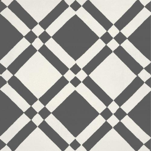Portugese Vloertegel Jos Hidro Almost Square Black 19.7x19.7 cm Prijs P/m2