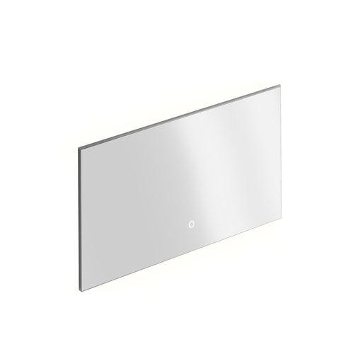 Badkamerspiegel Xenz Garda 120x70 cm Verlichting aan Onder- en Bovenzijde en Spiegelverwarming