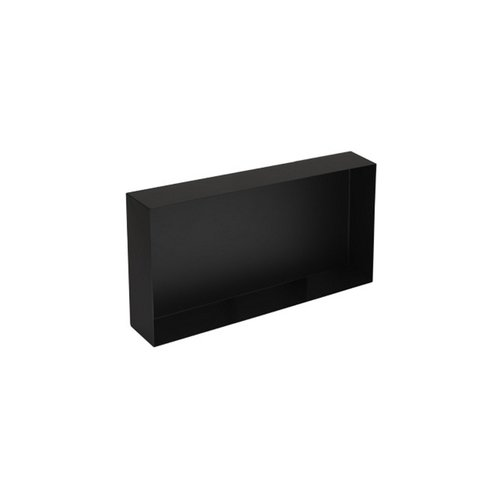 Inbouwnis Plieger Inbox Wand 60x30x10cm Waterproof Zwart