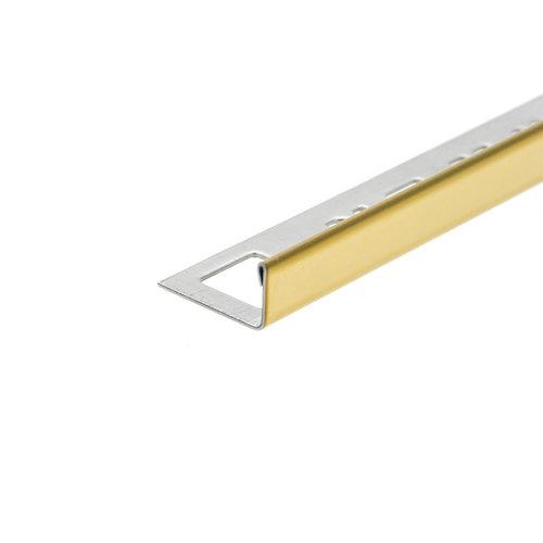 Tegelprofiel OX-Tools Eltex 11mm 270 cm RVS Goud