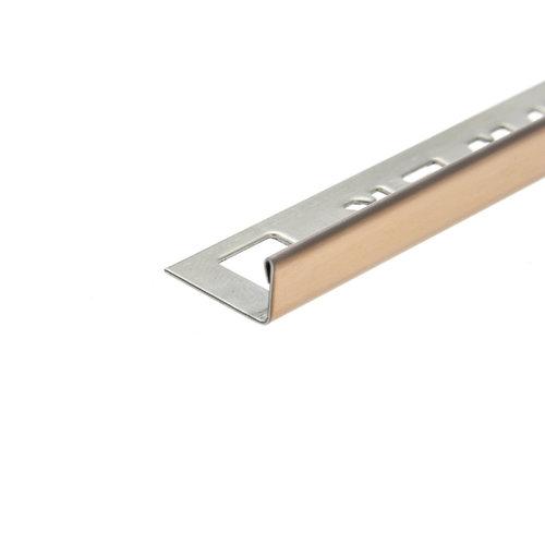 Tegelprofiel OX-Tools Eltex 11mm 270 cm RVS Koper