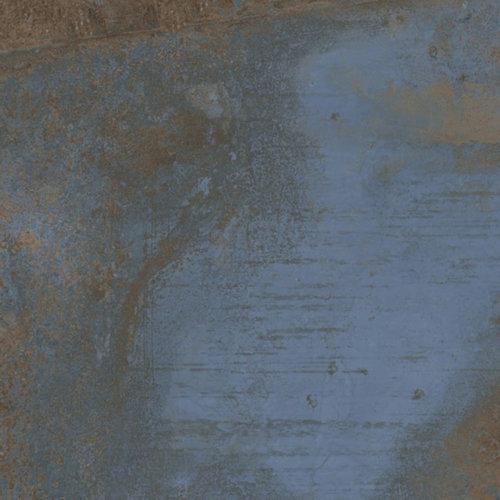 Vloertegel Flatiron Blue 60x60 cm Mat Blauw Prijs P/m2