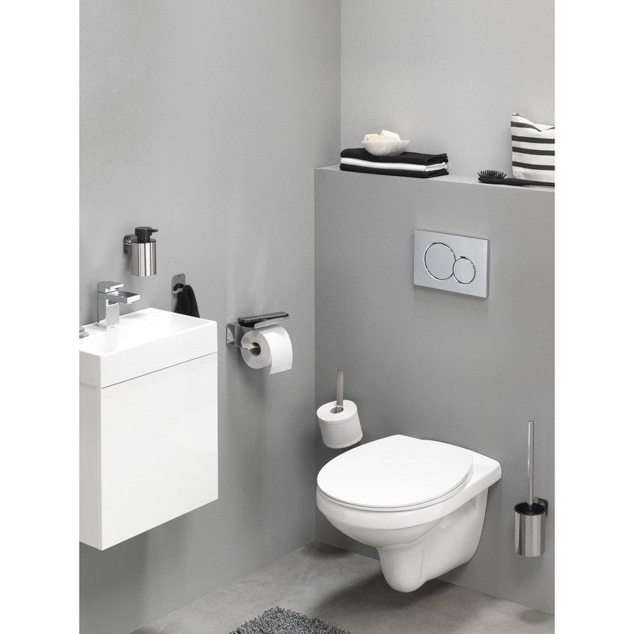 Toiletborstel met Houder Tiger Colar RVS Gepolijst