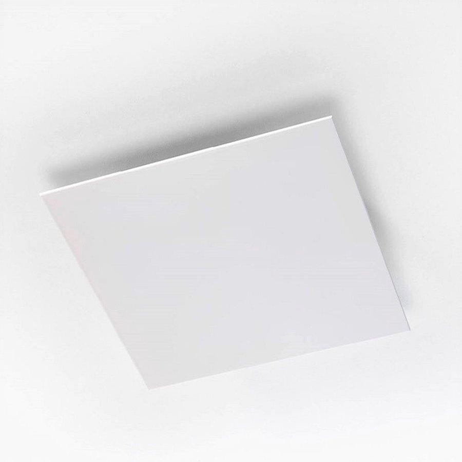 Afvoerventiel Design BWS Ventilatie Vierkant 12.5cm Wit