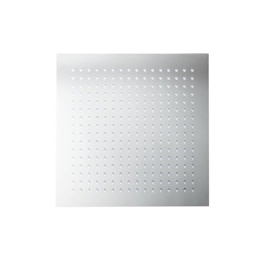 Hoofddouche voor Regendouche Herzbach Living Spa Vierkant 30x30 cm 1/2'' Chroom