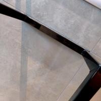 Handdoekenrek AQS Industrieel 95x25x20 cm Black Chrome