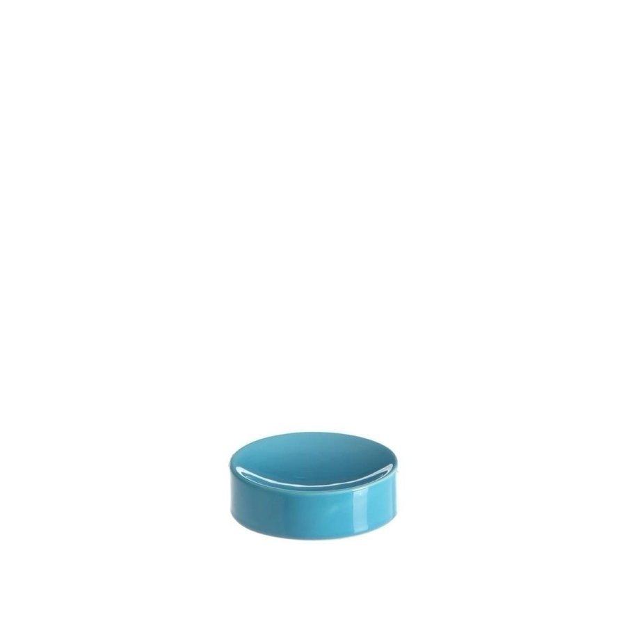 Allibert Zeephouder Oops 10,5x3x10,5 cm Glanzend Blauw