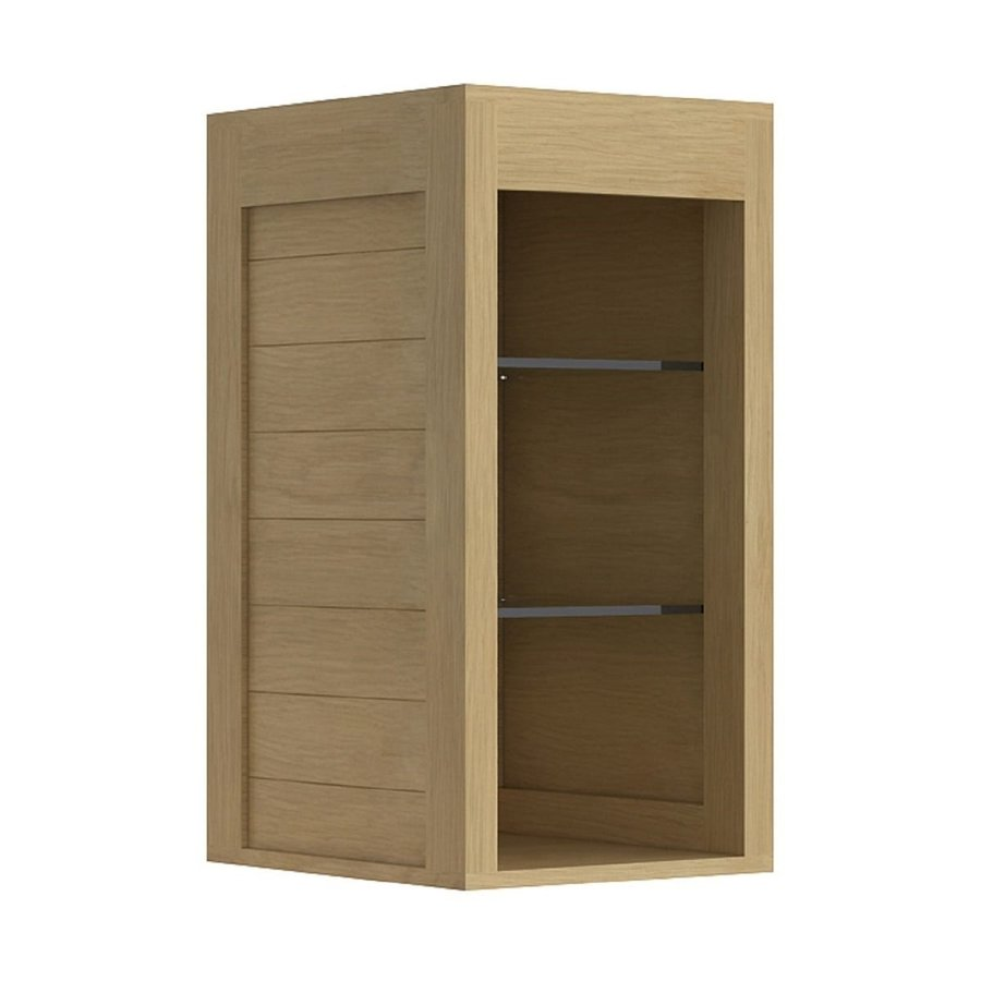 Allibert Hoge Kast One Hangend 85x44x46 cm Massief Eiken