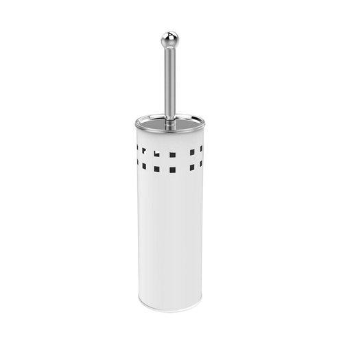 Toiletborstelhouder Sapho Simple Line Vrijstaand 28x10 cm Wit