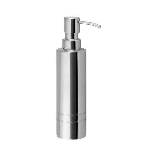 Zeepdispenser Sapho London Vrijstaand 210 ML Glanzend RVS