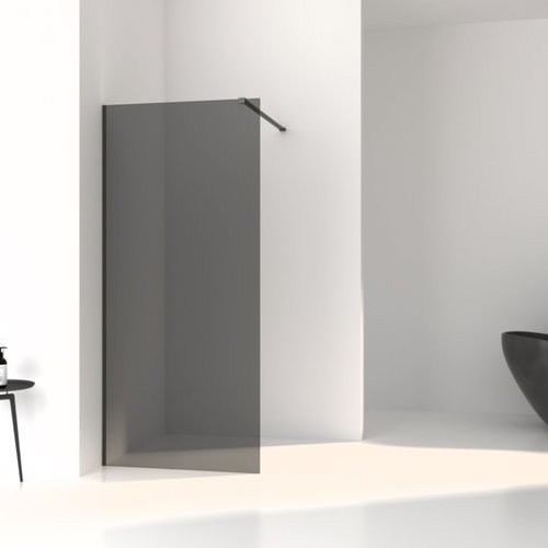 Inloopdouche Aqua Splash Slim Rookglas Anti-Kalk Coating Mat Groen Profiel (zes varianten)