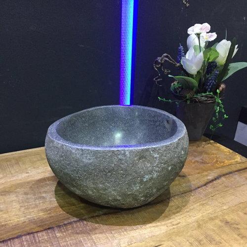 Fonteinkom BWS Natuursteen Lombok Riviersteen 25 cm