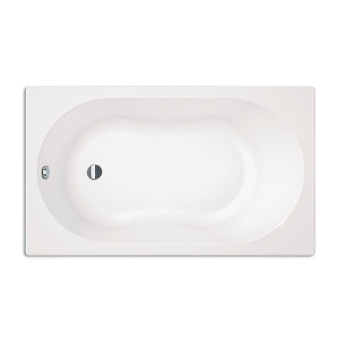Sealskin Ligbad Get Wet Optimo Minibad 120x70 cm Wit