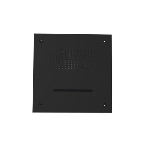 Inbouw Hoofddouche GRB InCool Vierkant 38x38 cm Zwart