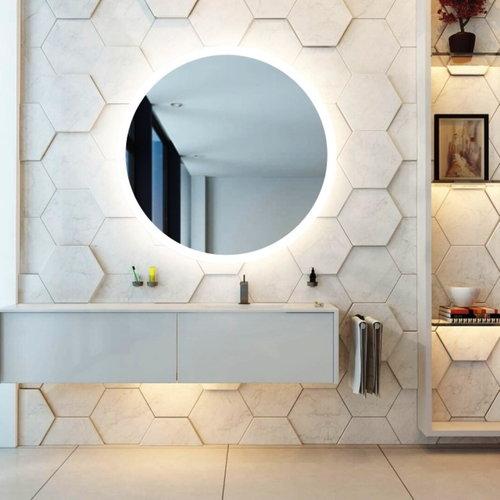 Spiegel Gliss Design Oko Rond LED Verlichting