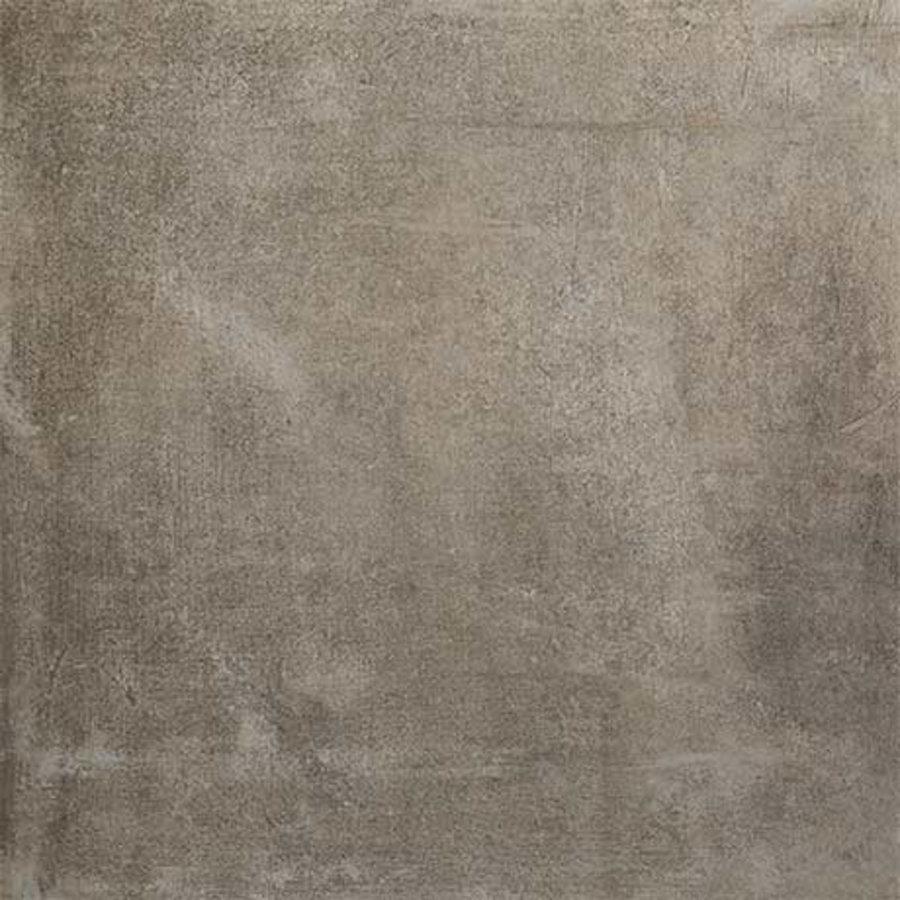 Vloertegel Douglas & Jones Matieres de Rex Manor 80x80 cm Brun Mat (Doosinhoud 1.28 m2)