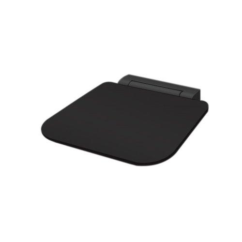 Opklapbare Douchezitting Best Design Nero-Ruby-Black 35x27.5 cm Zwart