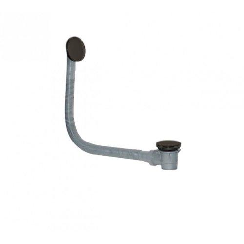 Badafvoer Best Design Vazia-Moya Overloopcombinatie Gunmetal