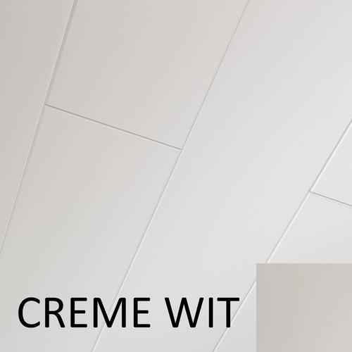 Plafondpanelen MDF Sanimex Crème Wit  260 cm x 38,5 cm x 1,2 cm (Doosinhoud: 2,08 m2)