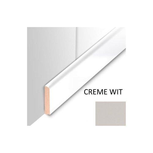 Plafondplint MDF Sanimex Crème Wit 260 cm x 4 cm x 8 mm