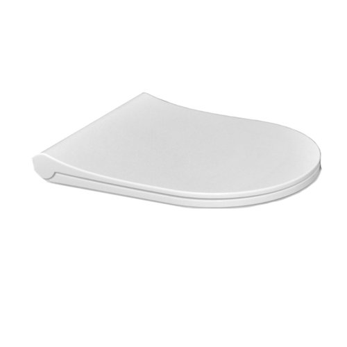 Toiletzitting Sanicare Rondo SLIM Ultra Dun Soft Close T.b.v. Rondo Wandcloset Wit