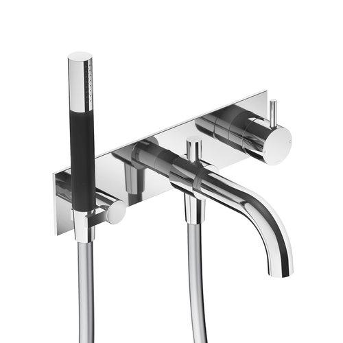 Inbouw Badmengkraan Hotbath Cobber Automatische Omstelinrichting (incl. doucheset) (15 Verschillende Kleuren)