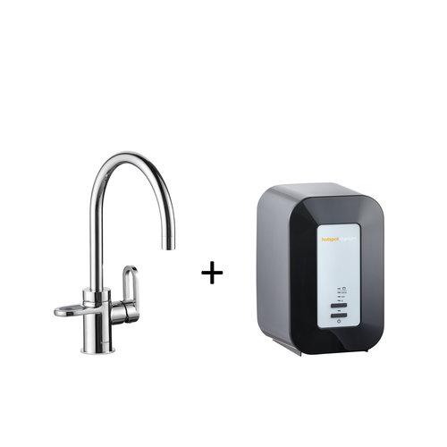 Kokendwaterkraan HotSpot Alessio Chroom Inclusief 4 Liter Boiler
