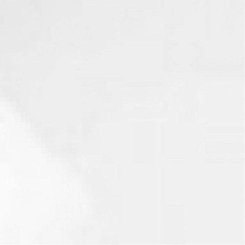 Vloertegel Chrystal White Poli Rect  Hoogglans Wit Gepolijst 60X60 P/M²