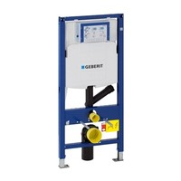 Geberit UP320 Mat Zwart Toiletset set65 Mudo Randloos met Sigma 01 Drukplaat