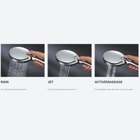 Handdouche Grohe Rainshower SmartActive 150 Rond 15cm Chroom