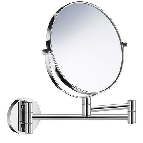 Vergrotingsspiegel Smedbo Wandmontage 17 cm Tweezijdig Chroom