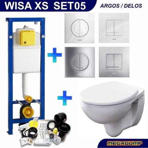 Wisa Xs Toiletset 05 Geberit Econ 2 Met Argos/Delos Drukplaat