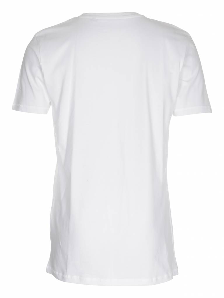 CLASSIC MBA TEE MENS WHITE - small logo