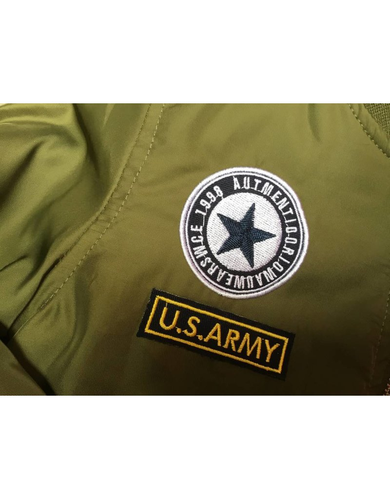 Bomberjasje (Army Groen)