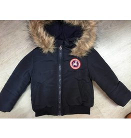 Winterjas voor babies  donkerblauw