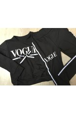 jogging pak zwart voque