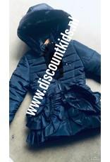 winterjasje  donker blauw