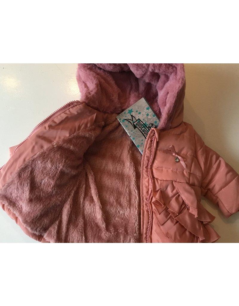 Baby winterjasje  (Zalm  Roze)