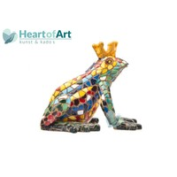 Gaudi Mosaic: Frog with Crown 2 Sizes