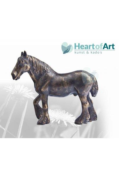 Bronzen paardje