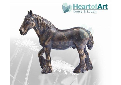 Brons Bronze Pferd