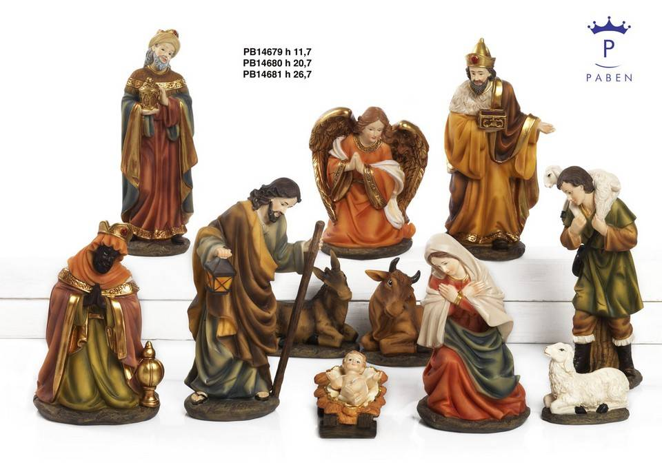 11 - part Large Christmas group: available in 2 sizes-1