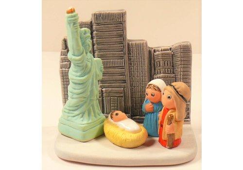 Relart Kerststal New York
