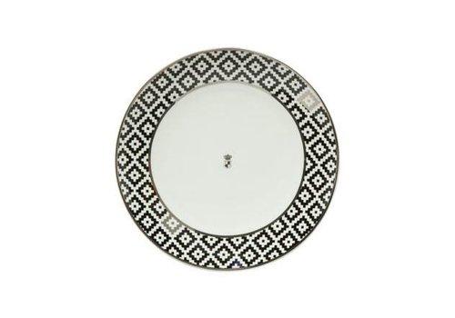 Black and White Black and White: Diamanten - dessertbord