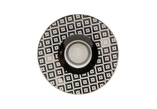 Black and White Black and White: Diamanten -theelichthouder