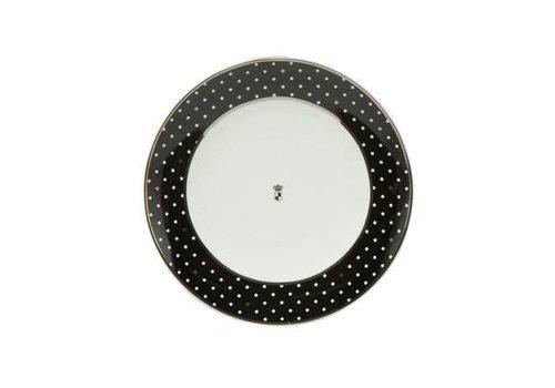 Black and White Black and White: Dots - Dessertteller