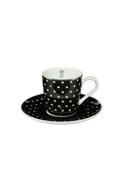 Black and White: Dots - Espressokop